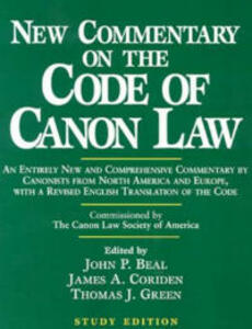 New Commentary on the Code of Canon Law - cover