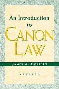 An Introduction to Canon Law - James A. Coriden - cover