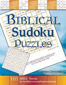 Biblical Sudoku Puzzles - James Ormond - cover