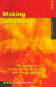 Comprehension Skills: Making Judgements (Advanced) - McGraw-Hill Education - cover
