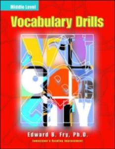 Vocabulary Drills Middle - Edward B. Fry - cover