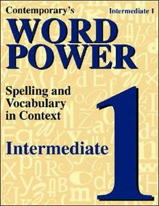Word Power: Intermediate Book 1 - Contemporary - cover