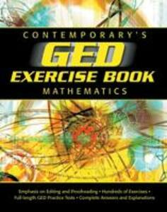 GED Exercise Book: Mathematics - Contemporary - cover
