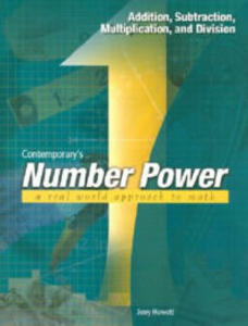 Contemporary's Number Power 1: Addition, Subtraction, Multiplication and Division - Jerry Howett - cover
