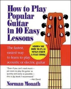 How to Play Popular Guitar in 10 Easy Lessons - Norman Monath - cover