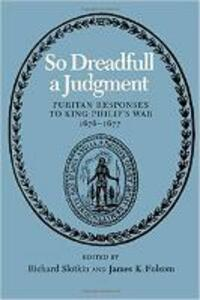 So Dreadfull a Judgment - cover