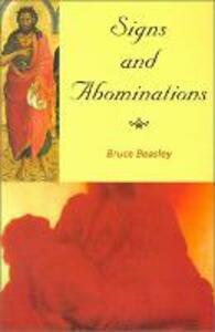 Signs and Abominations - Bruce Beasley - cover