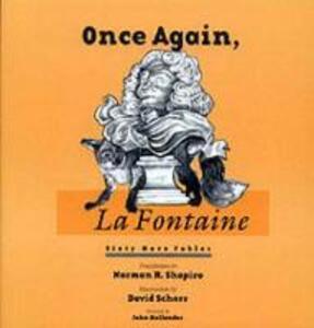 Once Again, La Fontaine - Norman R. Shapiro - cover