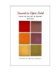 Toward the Open Field - cover