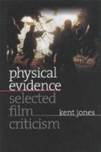 Physical Evidence - Kent Jones - cover