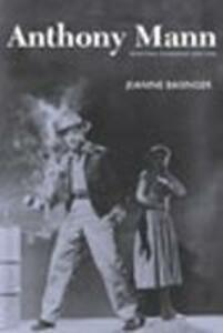 Anthony Mann - Jeanine Basinger - cover