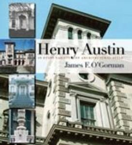 Henry Austin - James F. O'Gorman - cover
