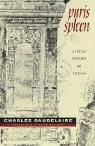 Paris Spleen - Keith Waldrop,Charles Baudelaire - cover