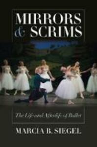 Mirrors and Scrims - Marcia B. Siegel - cover