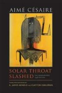 Solar Throat Slashed - Aime Cesaire - cover
