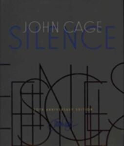 Silence - John Cage - cover