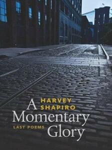A Momentary Glory - Harvey Shapiro - cover