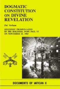 Dogmatic Const Divine REV - Paul VI - cover