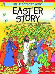 Easter Story: Bible Activity Book - Leena Lane - cover