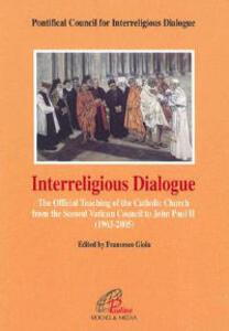 Interreligious Dialogue(opa) - Pontifical Council for Interreligious Dialogue - cover