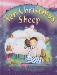 Ten Christmas Sheep (Bb) - Jan Godfrey - cover