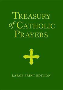 Treasury of Catholic Prayers Large Print - cover