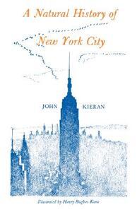 A Natural History of New York - John Kieran - cover