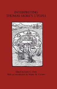 "Interpreting Thomas More's ""Utopia"" - cover"