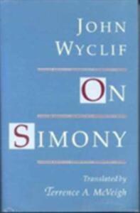 On Simony - John Wycliffe - cover