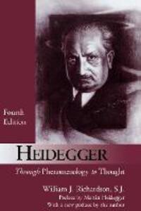 Heidegger: Through Phenomenology to Thought - William J. Richardson - cover