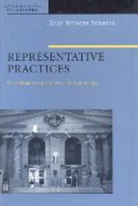 Representative Practices: Peirce, Pragmatism, and Feminist Epistemology - Kory Spencer Sorrell - cover