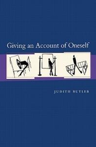 Giving an Account of Oneself - Judith P. Butler - cover