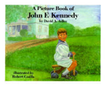 A Picture Book of John F. Kennedy - cover