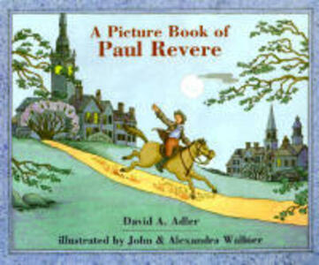 A Picture Book of Paul Revere - David A Adler - cover