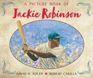 A Picture Book of Jackie Robinson - David A Adler - cover
