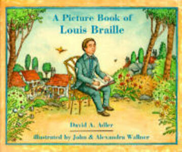 A Picture Book of Louis Braille - David A Adler - cover