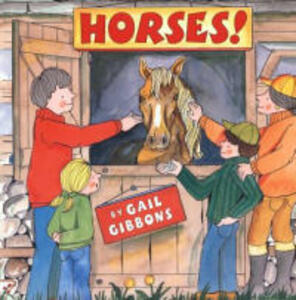 Horses! - Gail Gibbons - cover