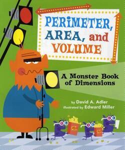Perimeter, Area, and Volume - David A Adler - cover
