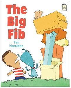 The Big Fib - Tim Hamilton - cover
