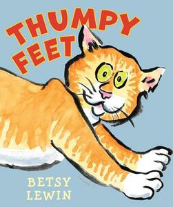Thumpy Feet - Betsy Lewin - cover