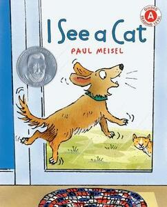I See a Cat - Paul Meisel - cover