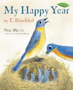 My Happy Year By E.Bluebird - Paul Meisel - cover