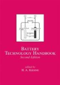 Battery Technology Handbook - H. A. Kiehne - cover