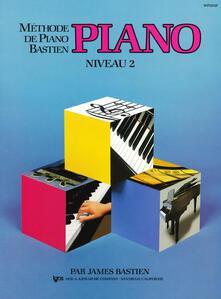 Methode piano. Niveau 2 - James Bastien - copertina