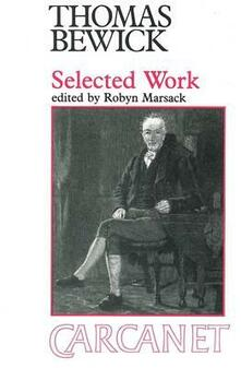 Selected Work - Thomas Bewick - cover