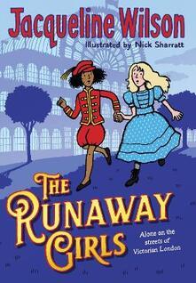 The Runaway Girls - Jacqueline Wilson - cover