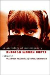 An Anthology of Contemporary Russian Women Poets - cover