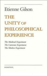 Unity of Philosophical Experience - Etienne Gilson - cover