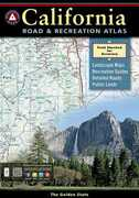Libro in inglese Benchmark California Road & Recreation Atlas, 7th Edition: State Recreation Atlases National Geographic Maps