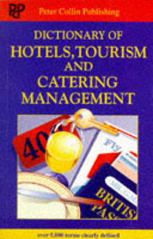 Dictionary of hotels, tourism and catering management - copertina